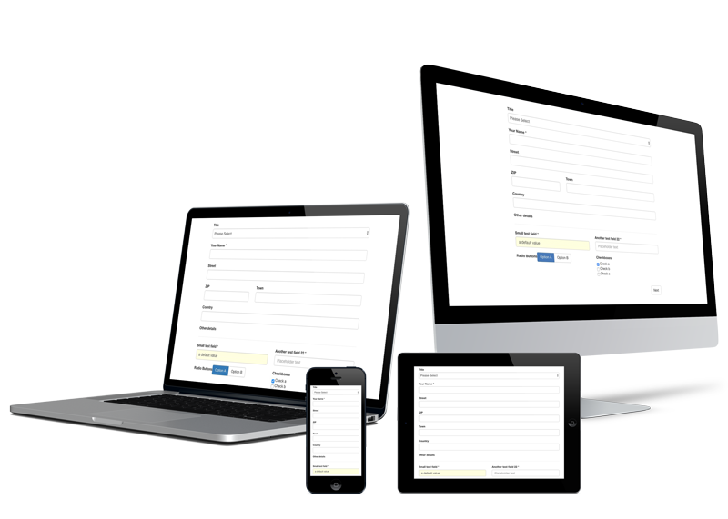 CForms is fully responsive!