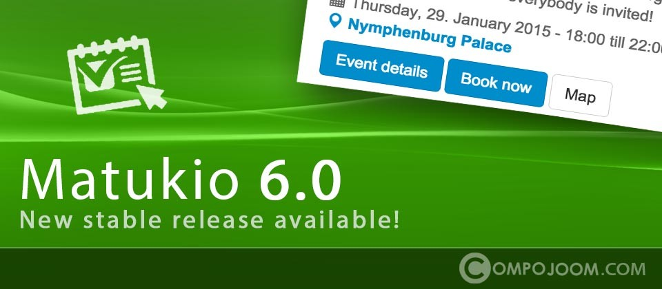 Matukio 6.0.14 is out