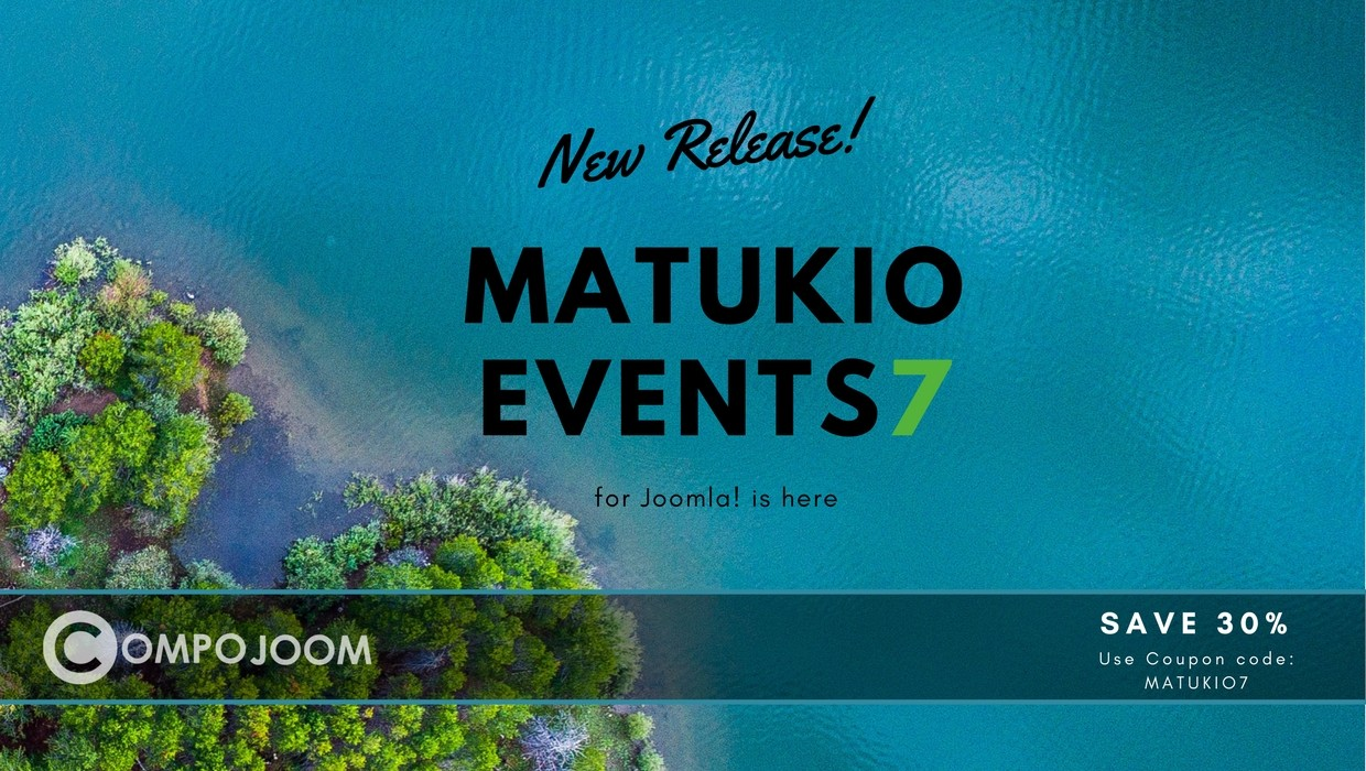 Matukio Events 7 RC 1 is out