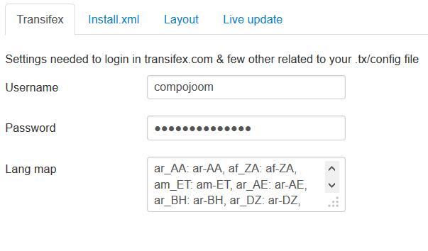 CTransifex - Joomla! language distribution - compojoom com