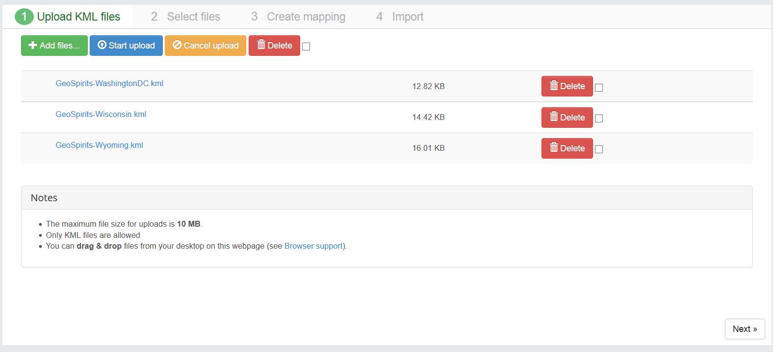 Hotspots Advanced Google Maps Manager For Joomla Compojoomcom - Google maps us states kml