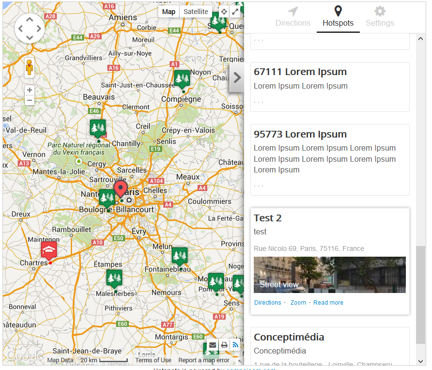Hotspots advanced google maps manager for joomla compojoom first previous 1 10 next last sciox Gallery