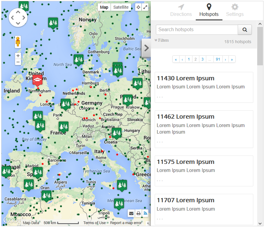 Hotspots Advanced Google Maps Manager For Joomla Compojoomcom - How to check sea level from google map